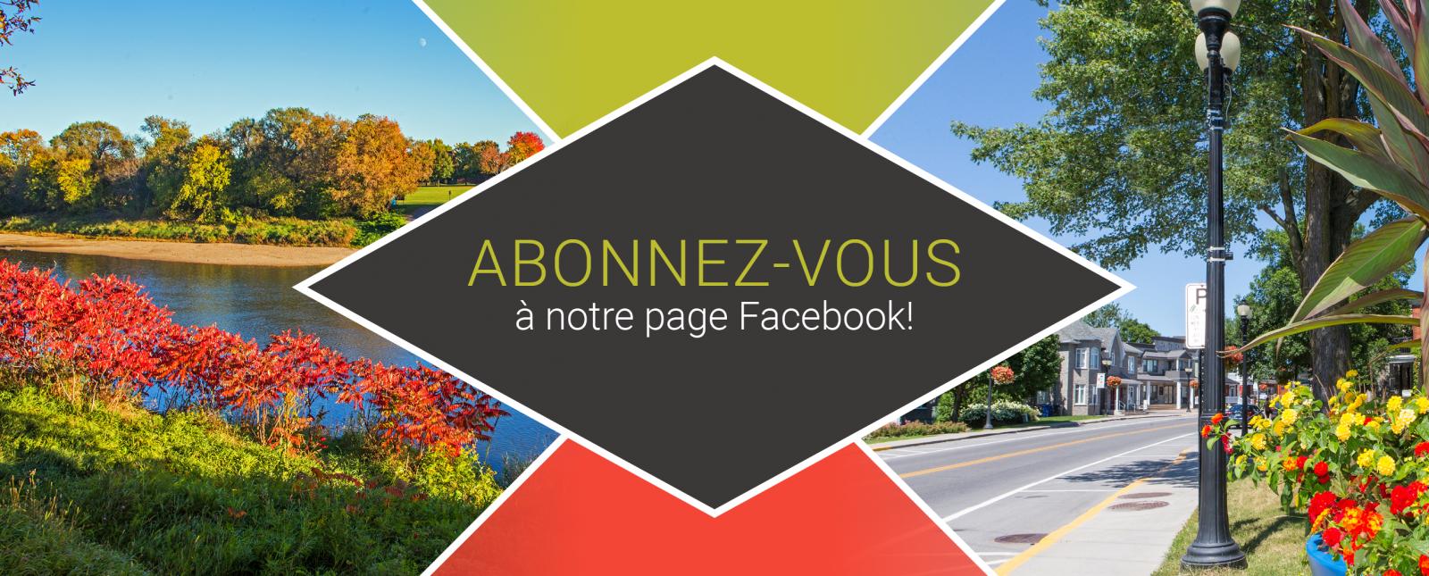 abonnez page facebook ville