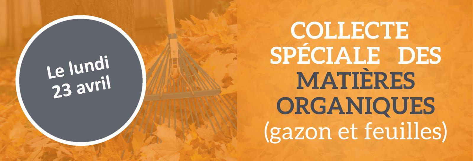 collecte speciale matiere organique