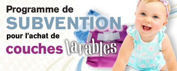 programme subvention couches lavables