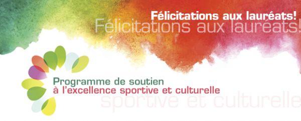 lauréats programme soutien elite sportive culturelle