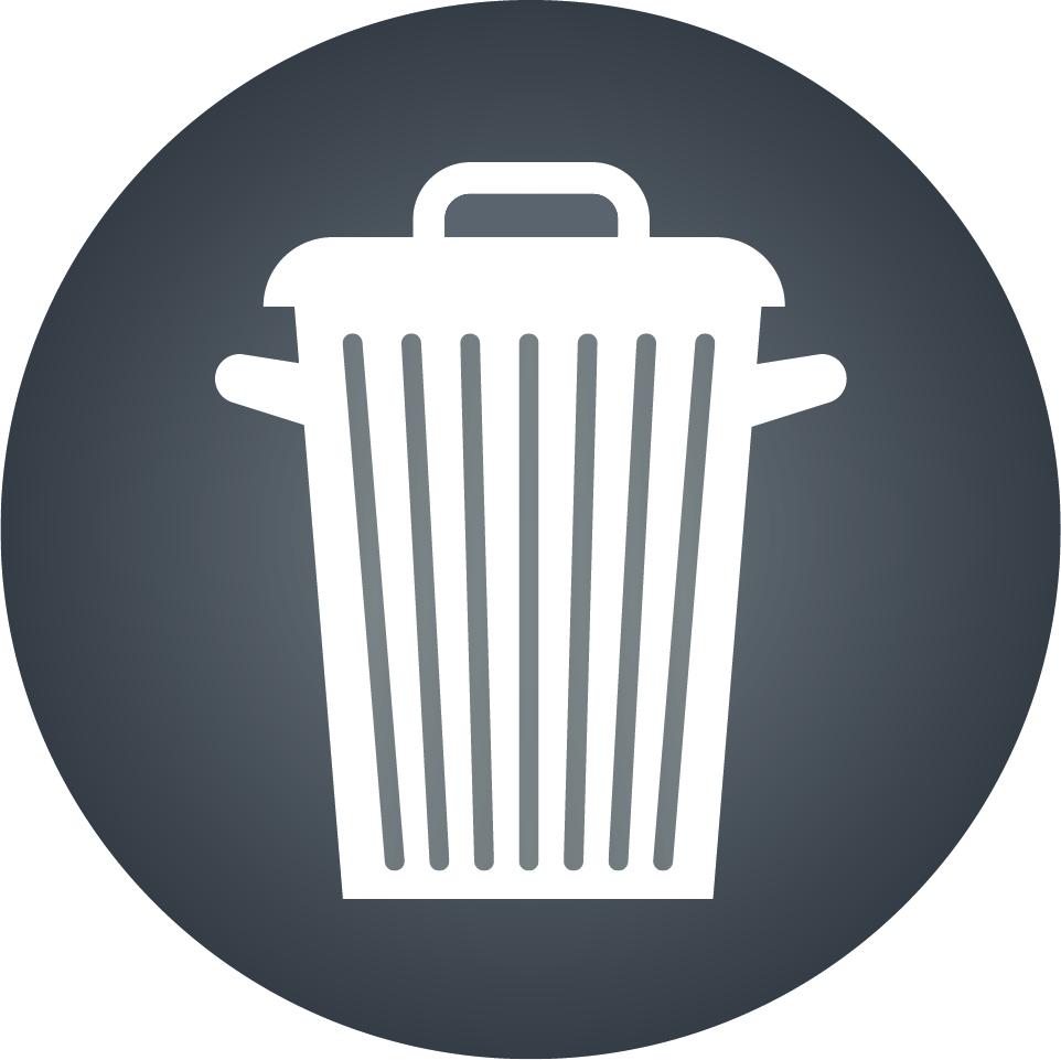 pictogramme ordures