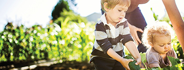 photo enfant protection environnement